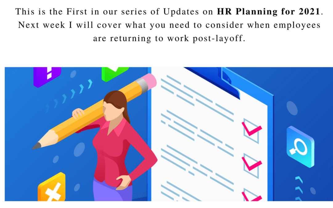 HR Manager planning staffing costs using a checklist